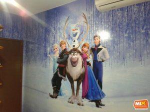 adesivo de parede frozen
