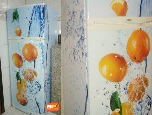 Adesivo personalizado para geladeira